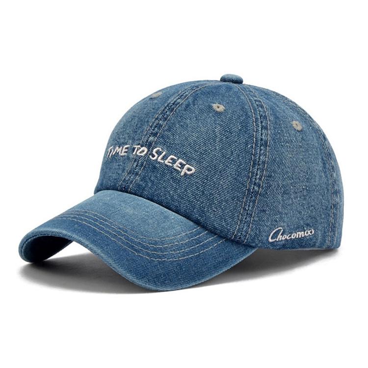 Custom Made Free Samples Blue Jean Caps a661dd56682