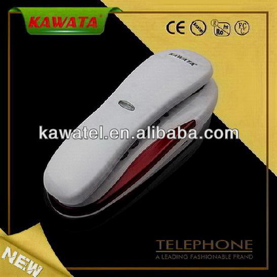 various color slim mini cute home phone