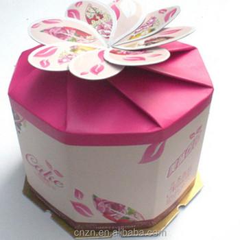 Paper Moon Cake Menu