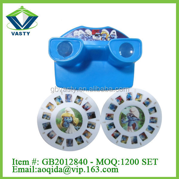 Hot selling view master 3d kids viewing machine