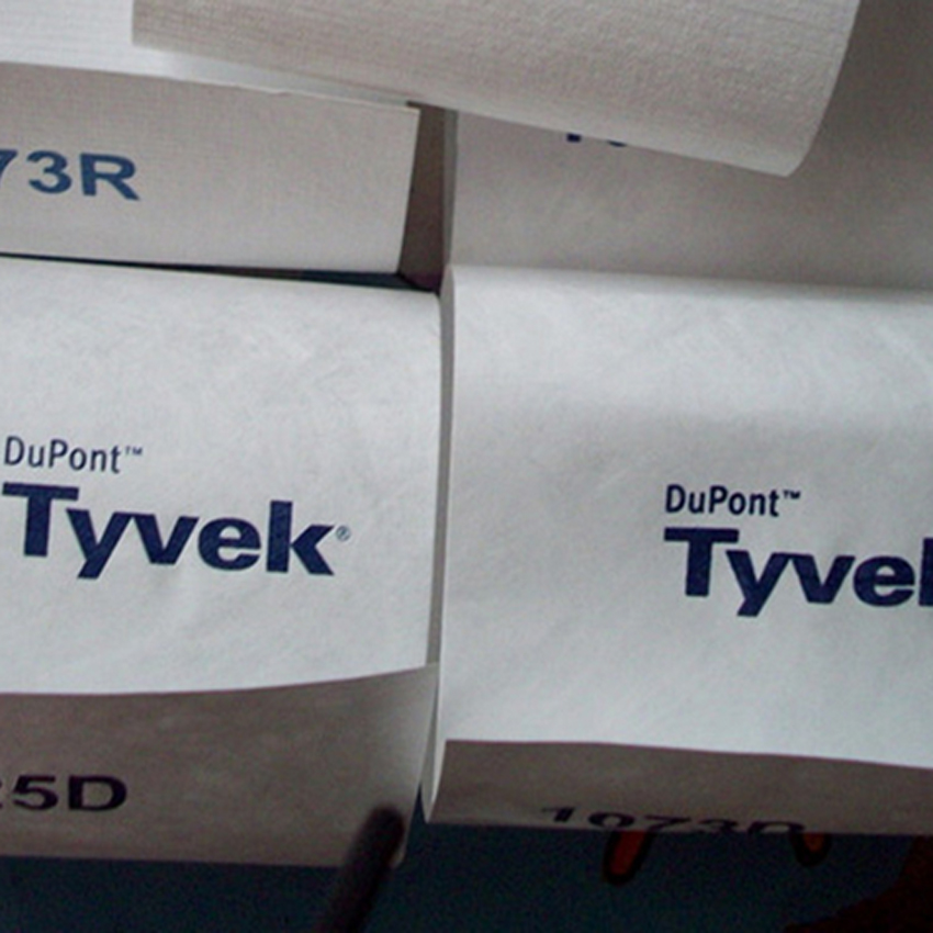 tyvek paper used for air leakage