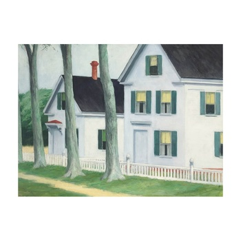 Free Shipping Edward Hopper Giclee Canvas Print Paintings Poster Reproduction Fine Art Wall Decor(Two Puritans)