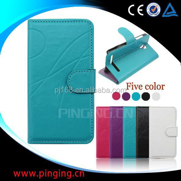 Hot selling mobile phone case design flip leather cover for Infocus M810