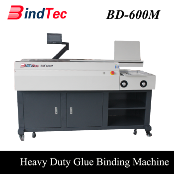 BD-600M Book Perfect Binding Machine With One Clamp Glue Book Binding Machine