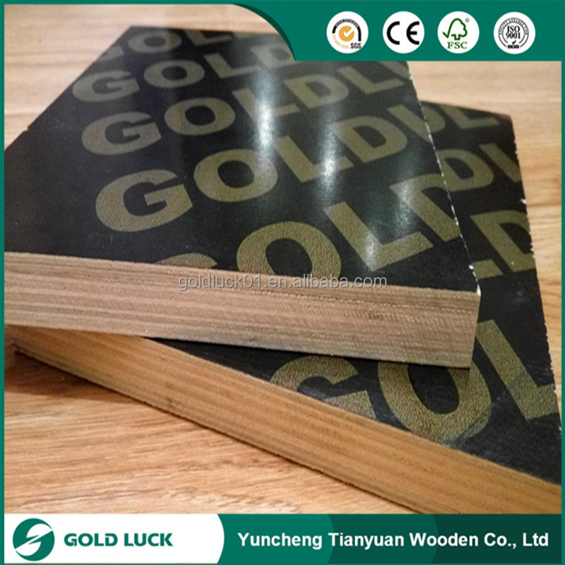 18mm Thick Concrete Forming Plywood for Construction