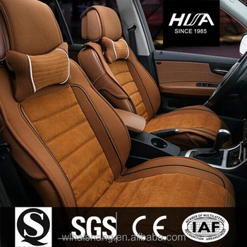 Wellfit Sponge Warm Velvet Car Seat Cover Cushion For Hyundai Sonata Toyota Ect