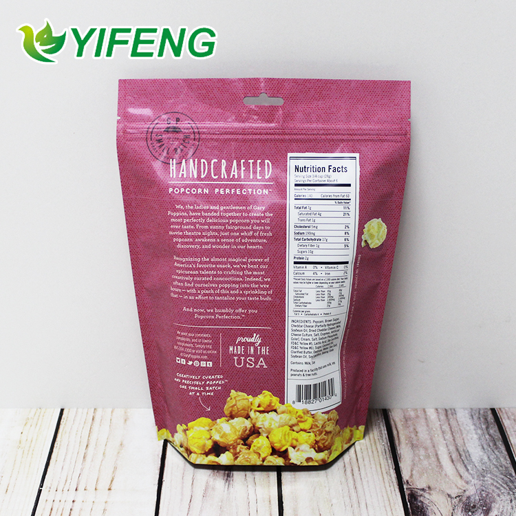 Good Brand Resealable Plastic For Dried Fruit Bags With Customized Logo