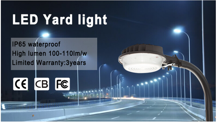 Aluminium and Glass lamp body led street light type IP65 waterproof 35w/50w led outdoor tower garden light windly used in yard