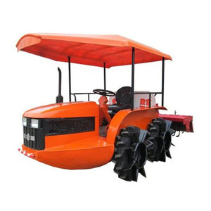 New amphibians style dry land rice paddy field 70hp paddy tire farm boat tractor for rice field cultivation sale philippines