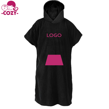 a195948f78 New Arrive Microfiber Hooded Fashion Summer Beach Fast Dry Hooded Towel  Swimming Robe Adjustable Sleeves Surf