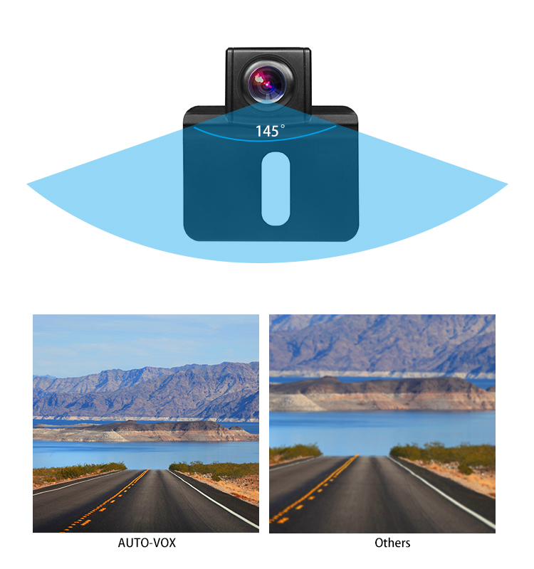 Dual lens 1080P super image manual driving recorder car dash cam