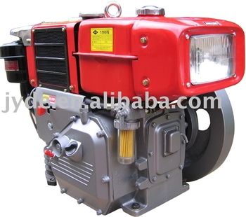 small r190nl diesel engine for sale with radiator and lamp buy diesel engine for sale single. Black Bedroom Furniture Sets. Home Design Ideas