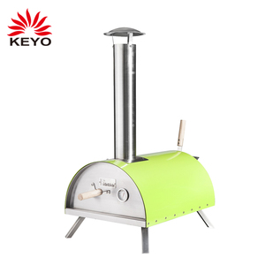 Stainless Steel Portable Outdoor Tabletop Wood-Fired Pizza Oven Grill Charcoal Wood Burning Pellet Pizza Oven