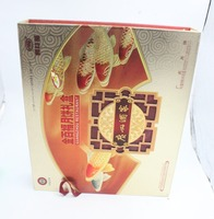Chinese Mid-Autumn Festival Gift Moon Cake Box With Hinged Lid For Moon Cake