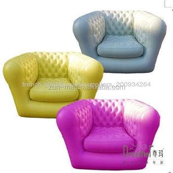 Aufblasbare Chesterfield Sofa Fashione PVC Aufblasbare Sessel Für Erwachsene Design