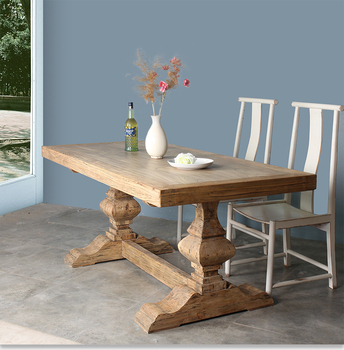 Long Wood Dining Table | Popular Long Antique Recycle Solid Wood Dining Table Buy Solid