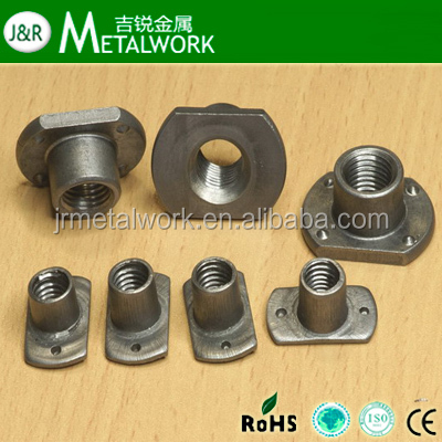 M4 Thd x .77 thk Unicorp EWN-M4-0-CU Round Projection Weld Nut Steel Copper Flash QTY-50