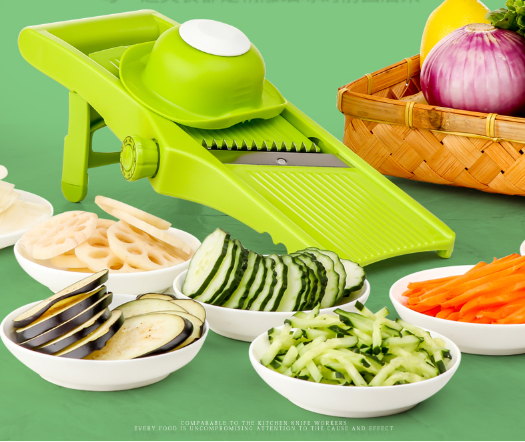2017 New Type Mandoline Peeler Grater Vegetables Cutter Changeable Blade Carrot Grater Onion Slicer Kitchen Accessories
