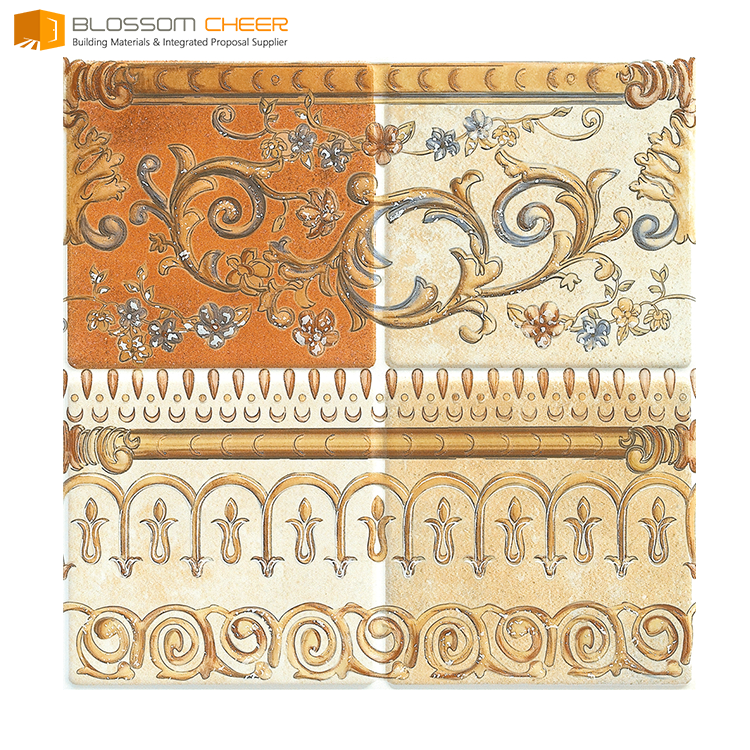 Low MOQ popular in german iraq thai ceramic tile 300 x 300 mm decoration