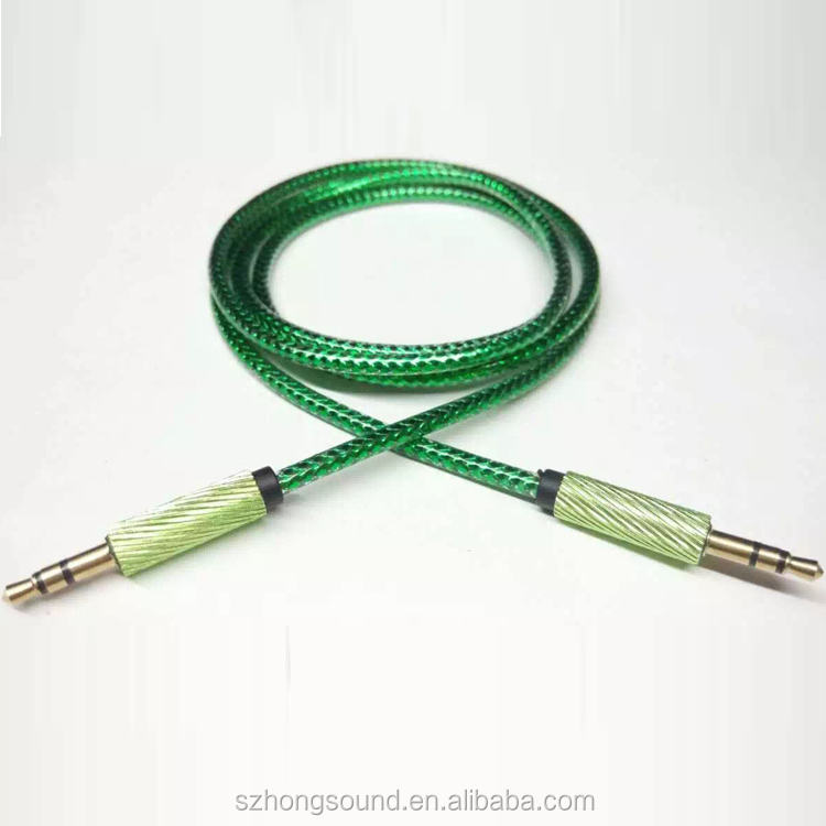 3.5mm audio jack cable for Earphone/MP3/MP4/iPhone/iPad