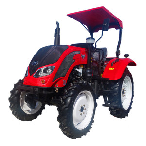 QLN 65 HP garden 4 wd agricultural cheap farm tractor with implements in bangladesh