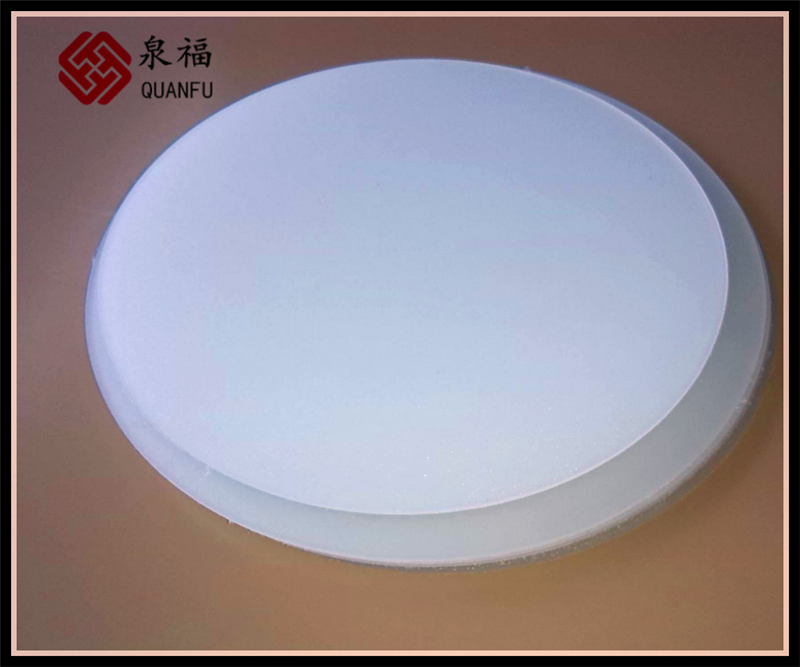 noise barrier heat-resistant light diffuser plastic awnings polycarbonate solid sheet for explosion-proof light