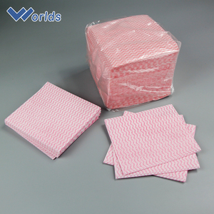 Industrial Buying Non Woven Disposable Kitchen Wipe Dish Cloth