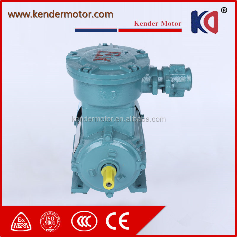 YB2 YB3 Y100L2-4 3KW 4HP Explosion Proof AC Electric Motors
