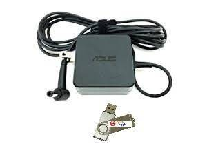 Bundle:2 items -Adapter&Power Cord/ USB Drive, Asus 33W AC Adapter For;Asus x451ma, x551ma, x451ma-vx027d, x451ma-vx048d,100% Compatible With P/N:Asus 0A001-00340900, ad890326, 010ale