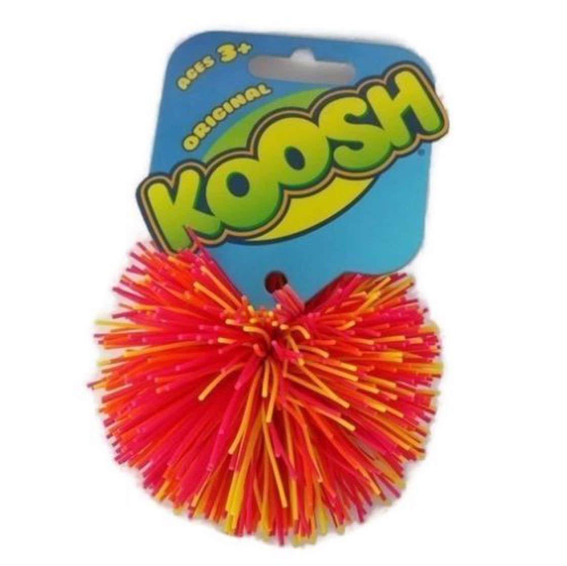 (1) Oddzon Hasbro Koosh Ball Fidget Autism Dyslexia Special Need Natural Latex (yellow, orange, purple confetti )