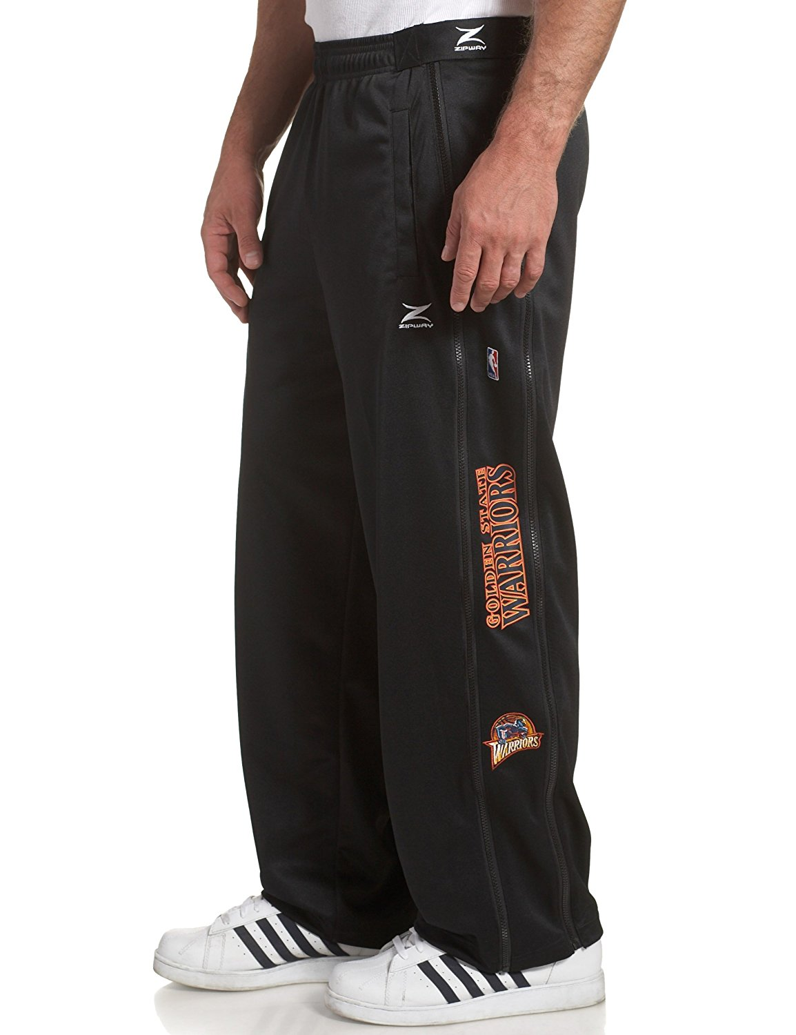 71575ab9e Get Quotations · Golden State Warriors NBA Team Panel Pant With Zipway Shell