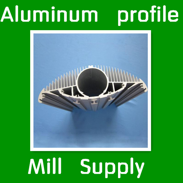 Aluminium profile for radiator