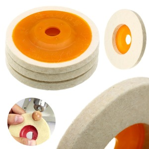 wholesale factory direct price 100% wool felt polishing disc buffing wheel pad for metal
