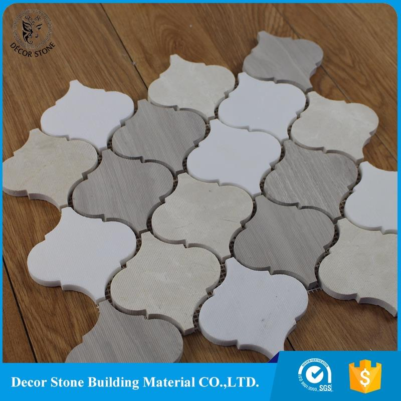 New promotion dark color lantern tile boarder with low price