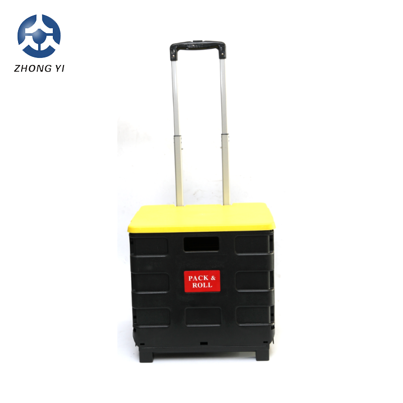 2018 plastic folding tote boxes