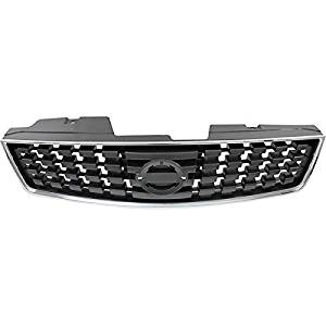 Crash Parts Plus Front Grille Assembly for 2008-2009 Nissan Sentra NI1200248
