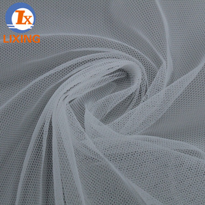 China Suppliers 100% Nylon 6420D Soft tulle Fabric Textiles Ln Embroidered Fabric