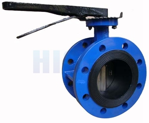 High quality seat valve manual butterfly valve nbr seat