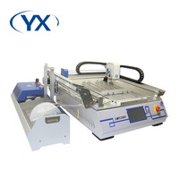 High Stability 2 Heads SMD Components SMT Pick Place Machine SMT280 With 28 Feeders PCB Soldering Machine