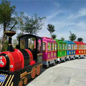 Kiddie Amusement Rides Electric Backyard Train Equipment For Sale