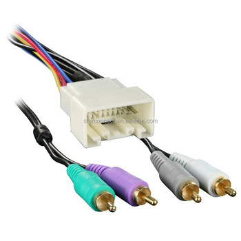 Marvelous Replacement Automotive Custom Rca Male Connector With Speaker Cable Wiring 101 Breceaxxcnl