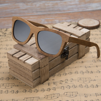 DODO DEER Wholesale Fashion Men Women Bamboo Wooden Sunglasses in Box