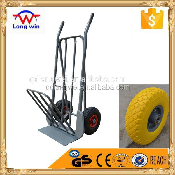 Hand Truck 200kg Capacity 2 Way Convertible Moving Hand Truck Dolly Heavy Duty