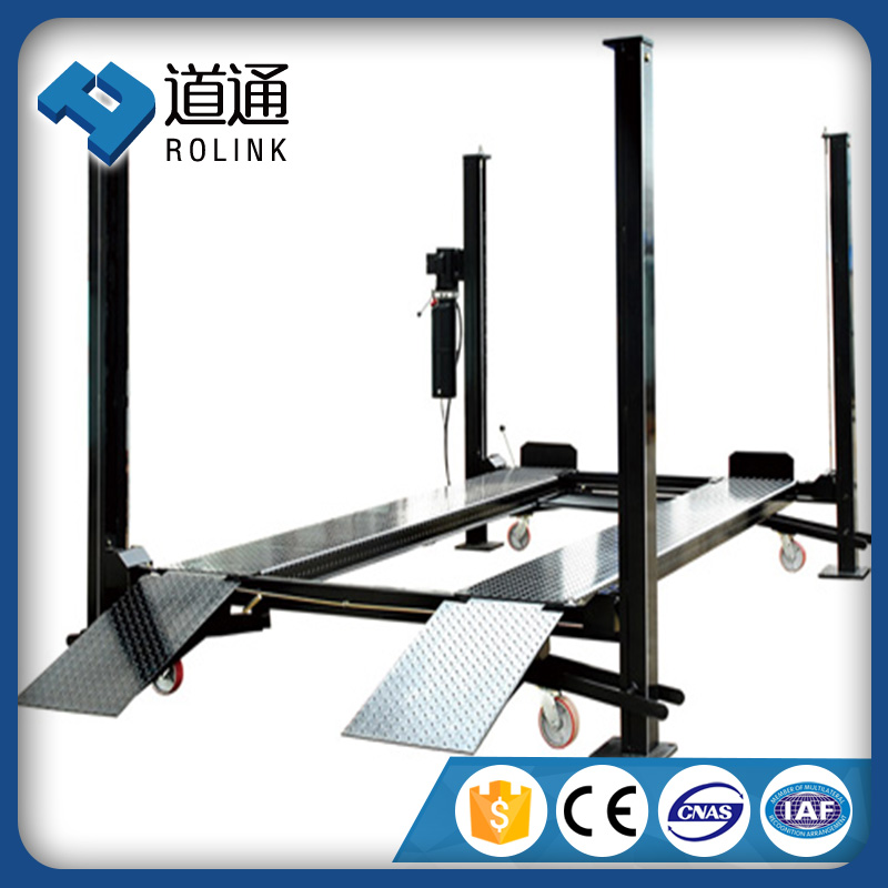 supplier of top brand high rise 4 post car lift