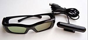 Samsung, Mitsubishi DLP TV compatible 3D kit Emitter and FOUR pair rechargeable glasses --works with all Samsung original and 3rd party Infrared synced wireless LCD shutter glasses including Mitsubishi and Samsung 3D Starter Kits