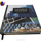 Custom print Full Color coffee table hardcover Book Printing