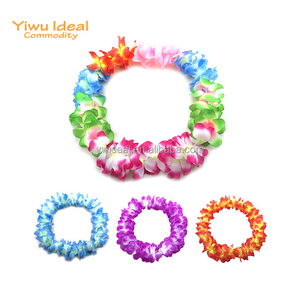 Fashion Party Polyester Artificial Flower Hawaiian Lei