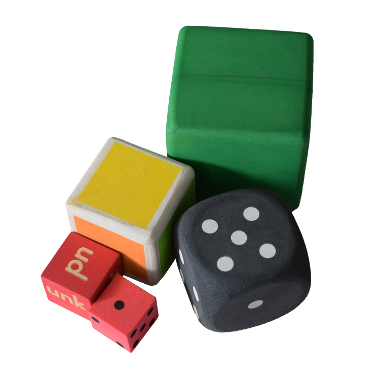 Educational toy Kids Playing Party EVA Foam Dice