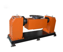 High precision ZR-81 rotating double-axis tilting positioner, lathe chuck, cnc rotary table