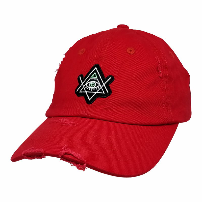 Custom Your Own Logo Pure Cotton 6 Panel Washed Worn Out Structured Dad <strong>Hats</strong>